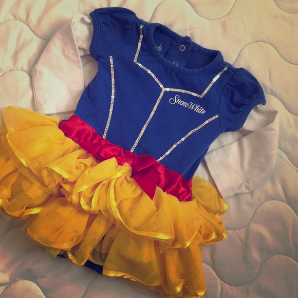 035c363f7 Disney One Pieces   Baby 6m Snow White Onesie Costume   Poshmark